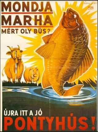 Ne búsuljon (búsuljon a ló!) - vegyél marhát! Magyart! Tarkát!