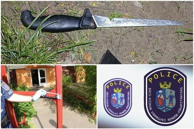 Késsel fenyegetve rabolta ki kiskorú unokatestvérét